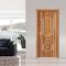 Steel wooden door Black wood GLS-SG509