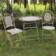 Fuzhou Powerlon Arts And Crafts Co., Ltd. Outdoor Iron Table & Chair