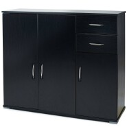 Sideboard Cupboard Cabinet Chest Of Drawers Wooden Large Storage Shelf Unit