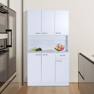 Flat pack oven cabinet unit design for kitchen pantry cabinets