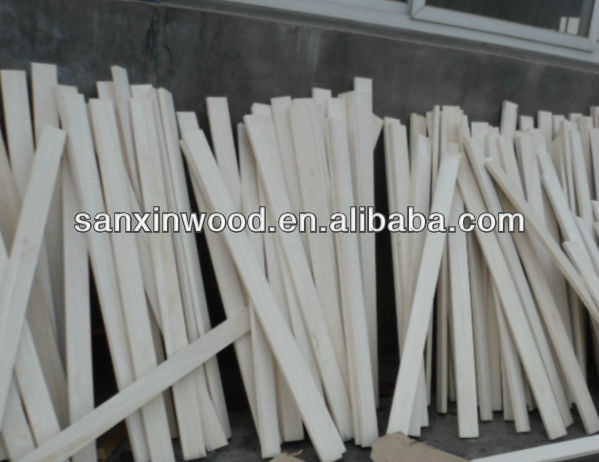 support timber battens FSC paulownia bed slats