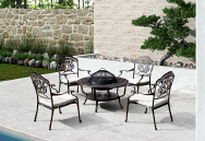 FURNISHING CHINA GROUP INTERNATIONAL LIMITED Outdoor Iron Table & Chair