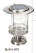 stainless steel outdoor wall lamp with solar SL014-275