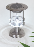 stainless steel outdoor wall lamp with solar SL014S-220