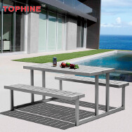 Tophine Furniture Supplies Co.,Ltd. Outdoor Aluminum Table & Chair