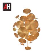 Modern Designer Golden Copper Designer Art Deco LED Wall Lighting