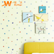 Cartoon Wall Paper, Beautiful Children's Bedroom Wallpaper, Wall Papers Home Decor Wallpaper with PV