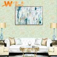 New design for living room wallpaper for home decoration nonwoven floral walllpaper