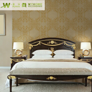 1.06 Korea Size Classic Embossed PVC Wallpaper for Room