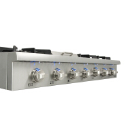 Thorkitchen 6 Burner Stainless Steel Gas Cooking Range Tops