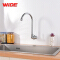 Cheap wall mounted long neck single cold kitchen faucet