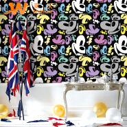 A21-18P88 cartoon character children room waterproof pvc wallpaper for kids