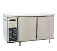 Rainbow air cooling stainless steel two door 1200mm counter table cooler 0-2degree