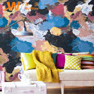 special design abstract wallpaper 3d wall paper pvc wallpaper for wall decoration