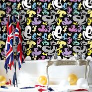 Kids Wallpaper 3D Bedroom PVC BTL Wallpaper for Spa Decoration