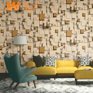 A22-27P67 Waterproof 3d vinyl pvc wall paper home decor