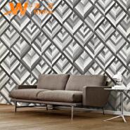 A22-27P25 Geometric design waterproof vinyl pvc 3d wallpaper