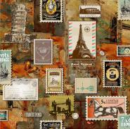 A22-27P02 High quality pvc vinyl 3d wallpaper landscape