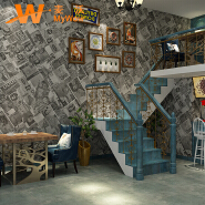 A5-14P23 New pvc photo 3d waterproof wallpapers for interior wall decoration
