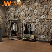 A5-14P40 Good quality pvc 3d waterproof wall paper home decor