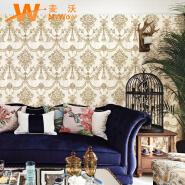 A22-26P01 Classic style damask design non woven wallpaper 1.06m korea