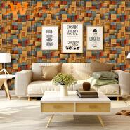 A62-24P06 New arrival pvc 3d wallpaper 2019 wall paper
