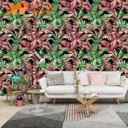 A49-19P31 Landscape 3d vinyl pvc wallpaper home decor wall mural