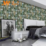 A62-24P01 European style 3d vinyl pvc wall paper home decor