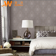 A71-1P36 Classic Italian style deep embossed vinyl wall paper 3d luxury