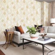 A22-26P42 Floral non woven korea wallpaper size 1.06m wall coating