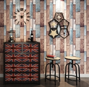 A38 Wood Grain Finish self adhesive Removable Wall Paper for Home Decoration