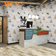 A5-14P36 Modern style brick pattern 3d stone vinyl wallpaper