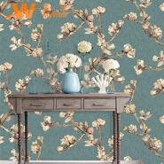 A49-19P26 Flower design home use vinyl wallpapers 3d