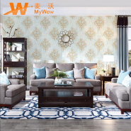A22-26P22 Royal flower 1.06m non woven wallpaper embossing