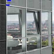 Unitized glass curtain wall