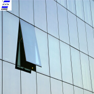 aluminum alloy price vacuum insulated glass curtain wall system