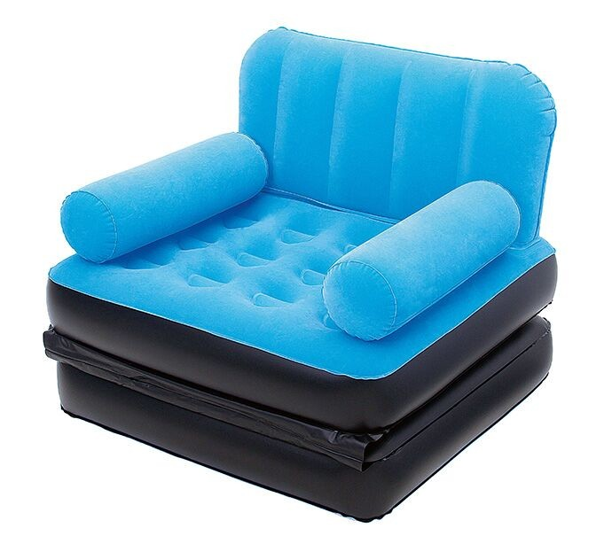 Bestway 67277 75'' x 38 ''x 25'' Multi-Max Air Couch Inflatable sofa Bed 3 assorted colors living ro