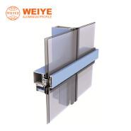 Building materials facade panels aluminium untized curtain wall system aluminium facsde cladding