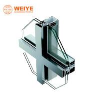 2019 latest designs glass aluminium frame curtain wall system