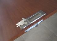 Hotselling Excellent Quality Nice Design Flush Design pocket wood door FLD-112