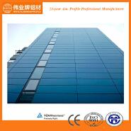 Good quality exterior aluminium frame glass wall