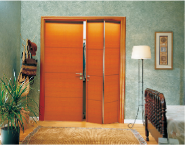 Best Selling Superior Quality Latest Design Flush Design Folded wood door FLD-106