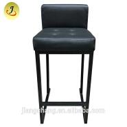 Cheap Black Iron PU Vinyl Seat Pub Stool Bar Chair