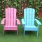 Modern Wooden Adirondack Chair Outdoor
