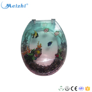 European decorative resin toilet seat cover