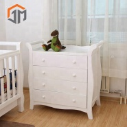 Wholesale Baby Cheap 4 Storage Drawer Changing Table