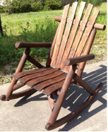jmindustriesgroup Outdoor Solid Wood Table & Chair