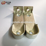 From China wardrobe support nickel plated clothes pipe brackets