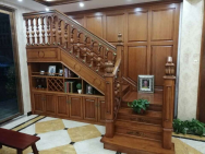 Hunan gaopeng wood art co. LTD Wood Staircase