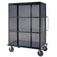 MASON linen cage cart